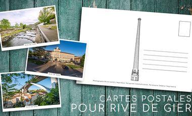 Visuel du projet Collection de cartes Postales de Rive de Gier