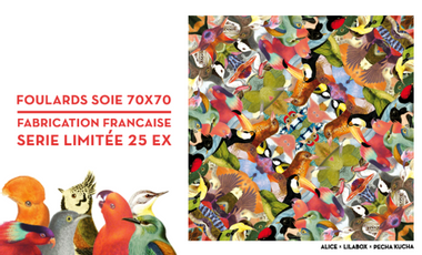 Visueel van project Série Limitée Foulards Soie (70x70) fab. Française