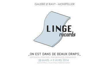 """Visueel van project Exposition Linge Records : """"On est dans de beaux draps"""""""