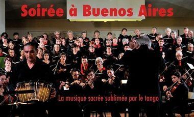Project visual Soirée à Buenos Aires - La musique sacrée sublimée par le tango
