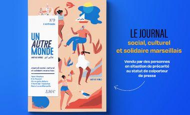 Project visual Journal social, culturel et solidaire - UN AUTRE MONDE