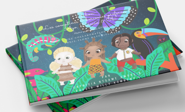 Project visual AYKOBI, the musical book that introduces Gabonese languages to your children.