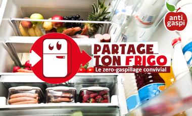 Visueel van project Partage Ton Frigo