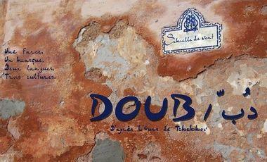 Visuel du projet DOUB دُبّ, une adaptation franco/marocaine de la farce de Tchekhov, L'Ours