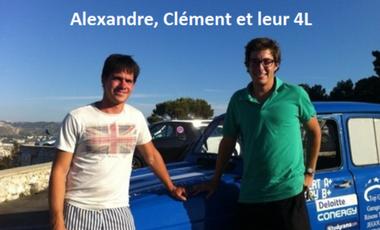 Visueel van project Alexandre, Clément et leur 4L