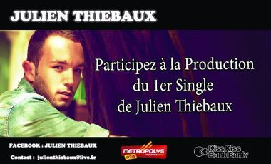 Project visual 1er Single de Julien Thiebaux.