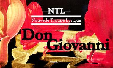 Project visual Nouvelle Troupe Lyrique - Don Giovanni