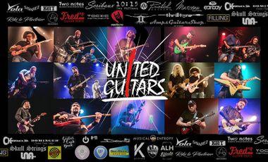 Visueel van project UNITED GUITARS VOL 2 : un projet collaboratif 100% guitare ! --> OBJECTIF 200% !