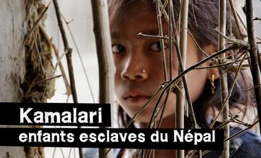 Project visual KAMALARI enfants esclaves du Népal