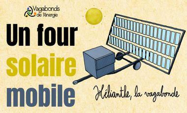 Visueel van project Hélianthe la vagabonde, le four solaire itinérant