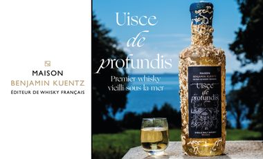 Visueel van project Uisce de profundis : 1st whisky aged in the ocean's depths