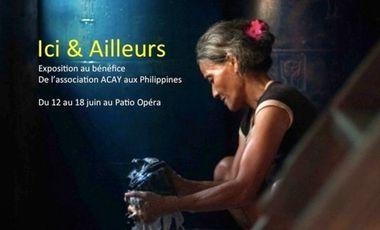 Project visual Ici et Ailleurs - Exposition au profit des Philippines