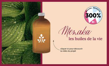 Visueel van project Menaka, les huiles de la vie