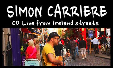 Visueel van project CD Live from Ireland streets - Simon Carriere