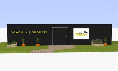 Visuel du projet Un container sportif