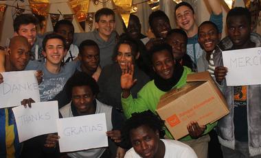 Visueel van project Des lits pour 16 jeunes migrants