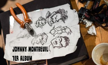 Project visual JOHNNY MONTREUIL  - 1er album