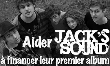 Visuel du projet Aider Jack's Sound à financer leur premier album