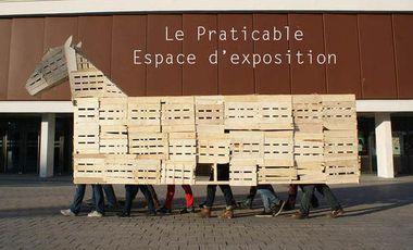 Project visual Le Praticable - Espace d'exposition