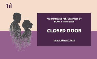 Project visual Closed Door