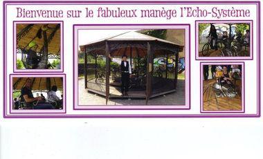 """Visueel van project """"Manège L'écho-système"""" www.manege-echosysteme.fr/  lionel.jaret@sfr.fr   06-51-58-26-67"""