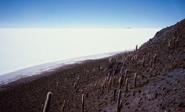 Project visual Captifs du Salar de Uyuni, le premier livre de Gérard de Frayssinet