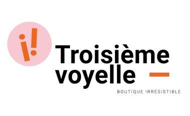 Project visual Troisième voyelle, boutique !rrésistible
