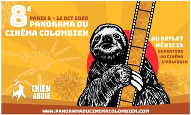 Project visual 8ème édition du Panorama du Cinéma Colombien - PARIS 2020