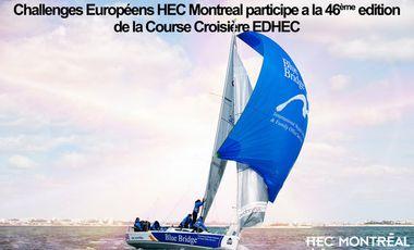 Visuel du projet Team Challenges Européens HEC Montreal participe a la 46 ème edition de la Course Croisiere EDHEC