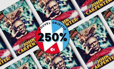 Visuel du projet Fanzine Art de cinéma, spécial John Carpenter