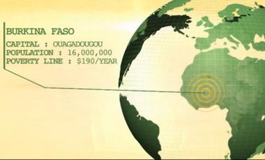 Visueel van project FasoPro, des chenilles pour lutter contre la malnutrition au Burkina