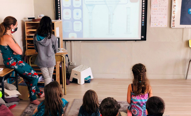 Project visual Albatross: children education to sustainable development