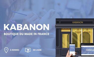 Visuel du projet Kabanon, boutique du Made in France (en ligne & à Rennes)
