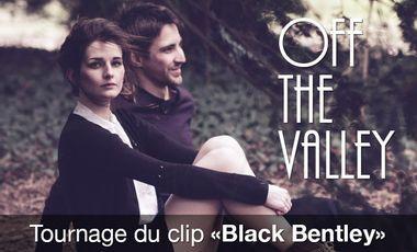 "Visueel van project Projet de clip vidéo ""Black Bentley"" du groupe OFF THE VALLEY"