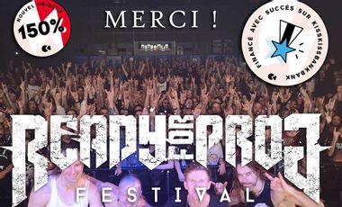 Visueel van project Ready For Prog Festival 2021