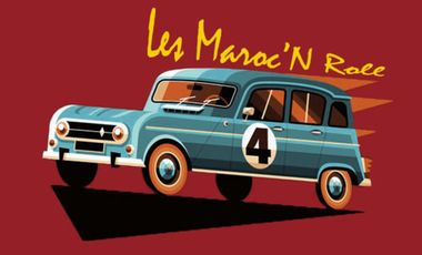Project visual Les MaRocn'roll, en route pour le 4l trophy 2014 !