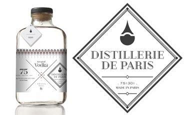 Visueel van project Distillerie de Paris