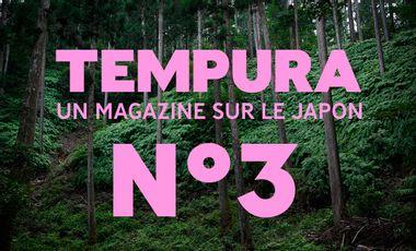 Project visual TEMPURA N°3, le magazine sur les cultures du Japon - Précommandes !