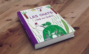 Visuel du projet Les Chats et l'ère du temps : une BD pas comme tout le monde.