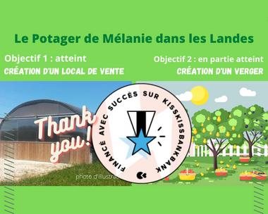 Visueel van project La création d'un verger au Potager de Mélanie dans les Landes