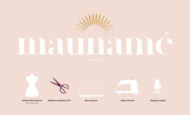 Visuel du projet Maunamé, Box créative & patrons de couture !
