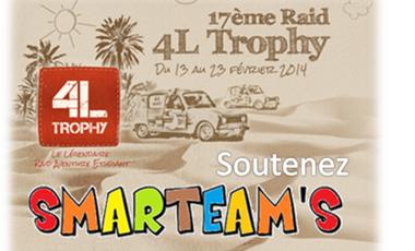 Project visual Smarteam's au 4L Trophy