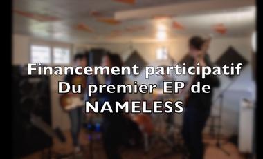 Visuel du projet Financement du premier EP de Nameless