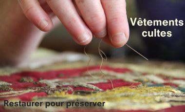 Project visual Vêtements cultes - Restaurer pour préserver