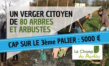 Visuel du projet Ensemble, plantons des arbres fruitiers pour la ferme des Bruyères !