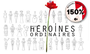 Visuel du projet Livre-agenda Nos héroïnes ordinaires