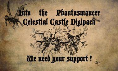 "Visuel du projet WARPSTONE : New album ""Into the Phantasmancer Celestial Castle"""