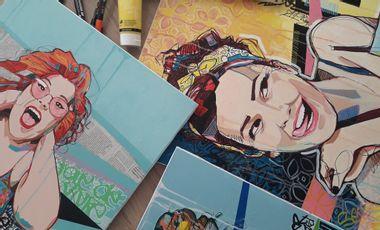 Visueel van project Audrey Schintu Art