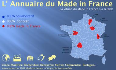 Visueel van project Annuaire 100% collaboratif du Made in France