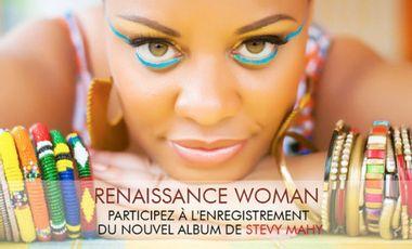 Visueel van project Nouvel album de Stevy Mahy en autoproduction : participez à l'enregistrement